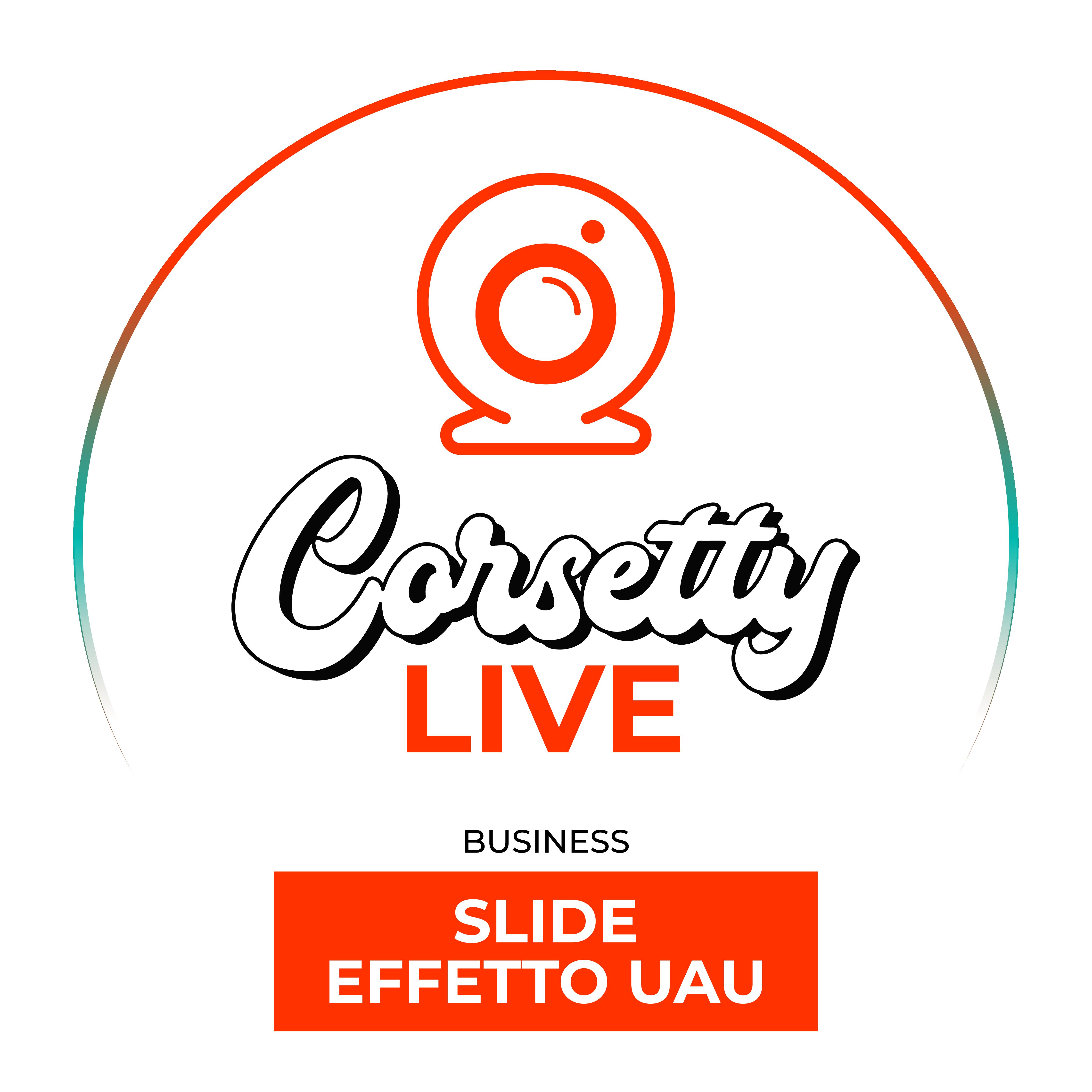 Corsetty – live: slide uauuu