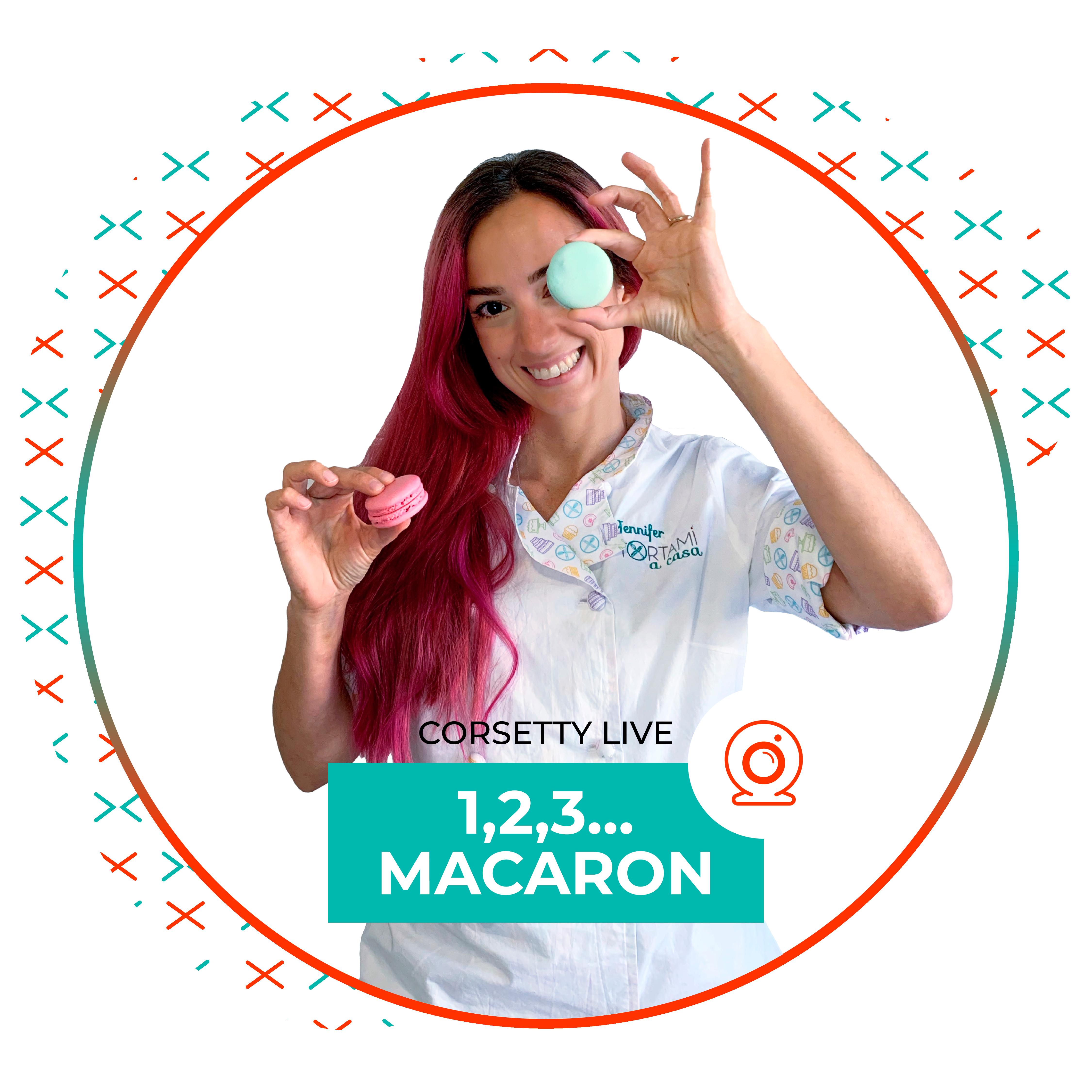 Corsetty – live: 1,2,3…macaron!